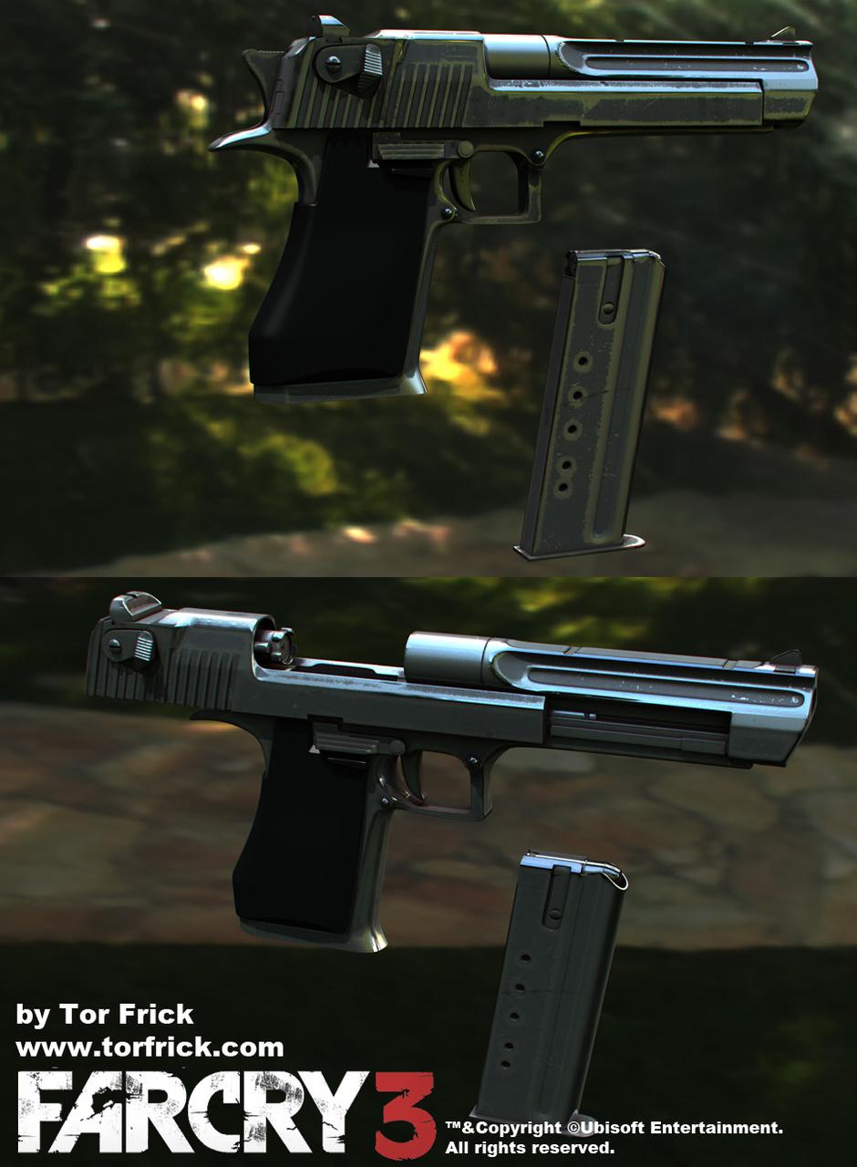 Far Cry 3 Guns By Snefer Realistic 3d Cgsociety