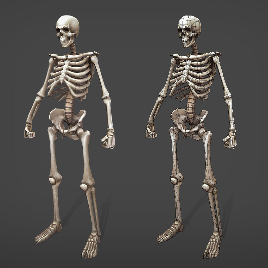 Taka low poly skeleton 1 04647d0a c20l