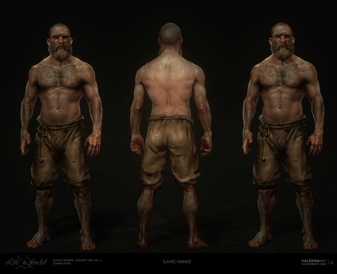Life is feudal - Viking-Warrior