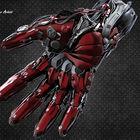 Mech Hand Cyborg Design.