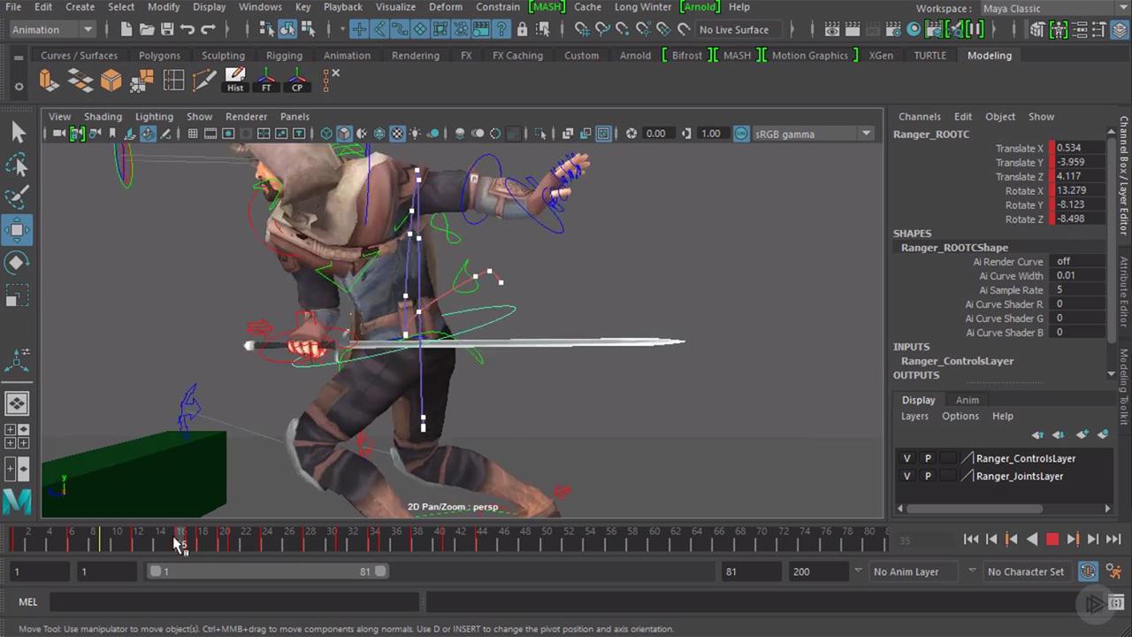 Maya Character Animation Tips - article | CGSociety