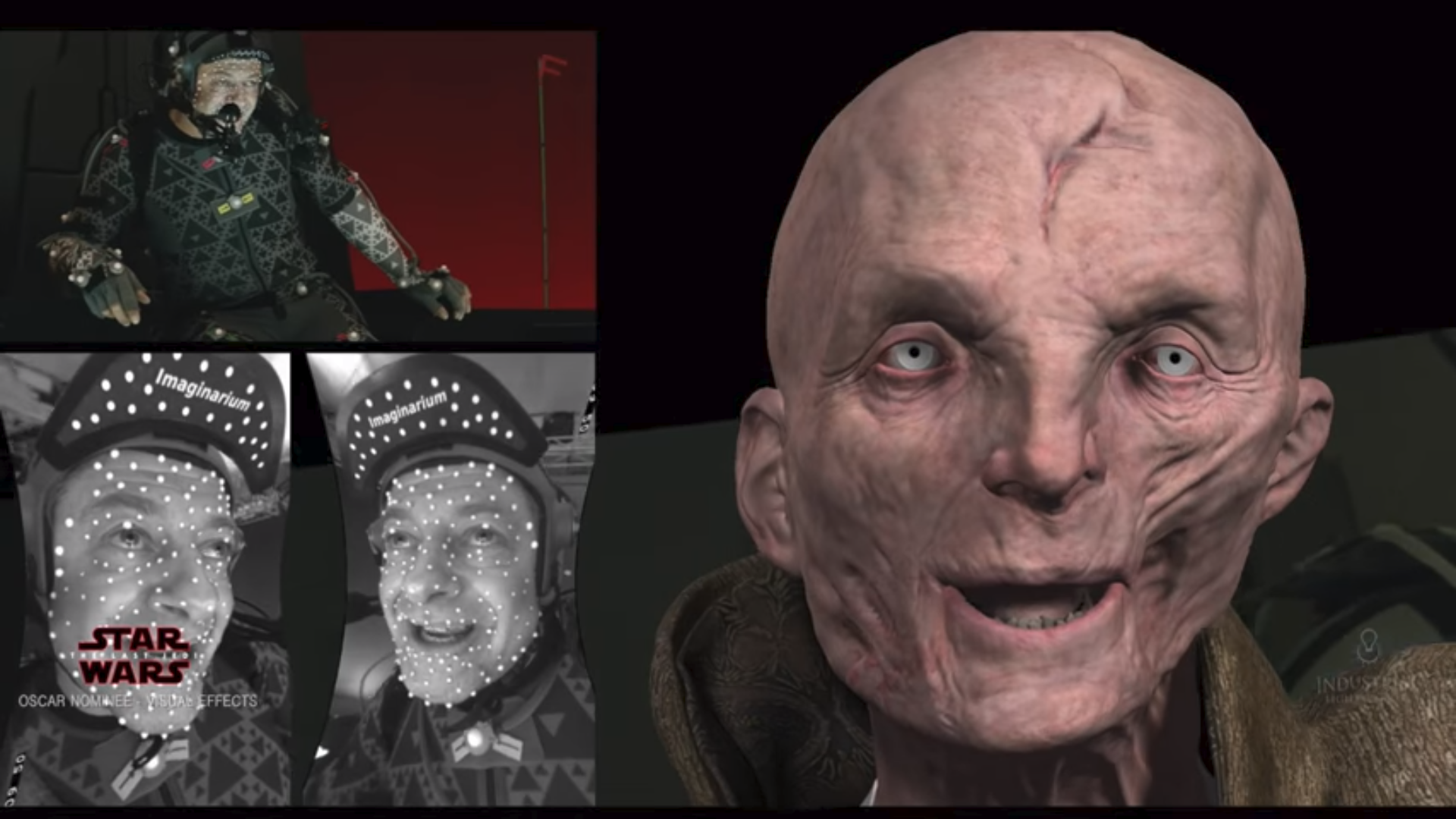 Behind The Magic Star Wars The Last Jedi Creating Supreme Leader Snoke Article Cgsociety