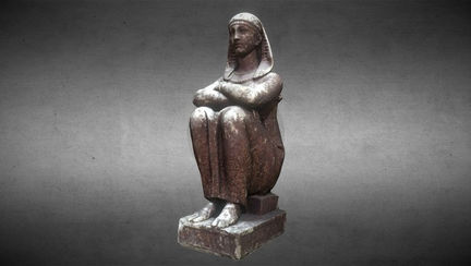 Statue of a priestess of isis