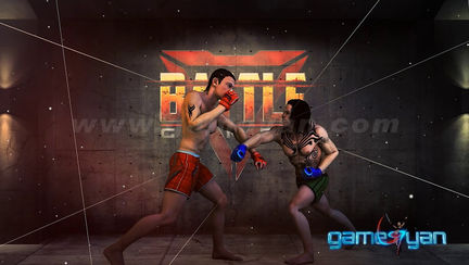 MMA Fighting 3D iOS Gameplay HD - 3D Production Animation Studio